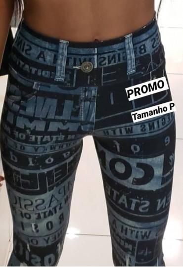 Legging Fake Jeans RM
