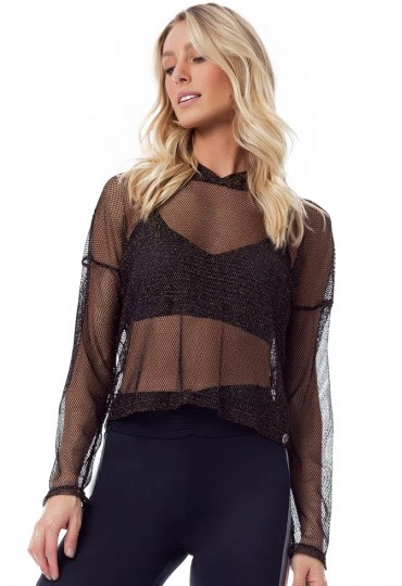 Blusa Black and Gold