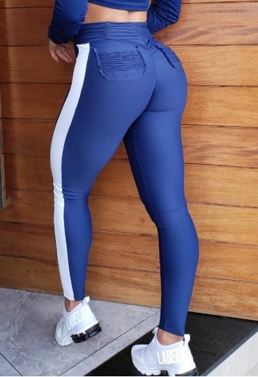 Legging Empina Bumbum Azul marinho