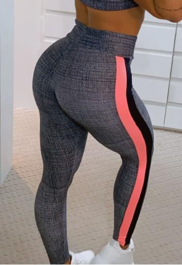 Legging Empina Bumbum Fake Jeans Preta