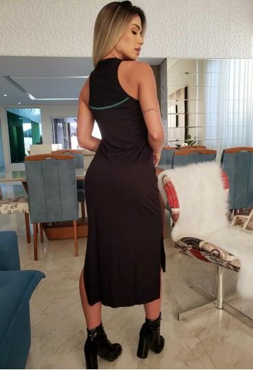 Vestido Black Midi Colcci