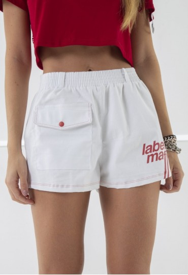 Shorts Labellamafia White