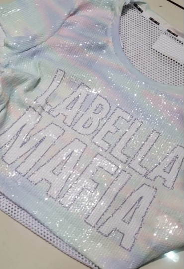Cropped Holographic Labellamafia