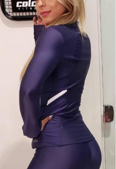 Jaqueta Comfortably Azul Marinho
