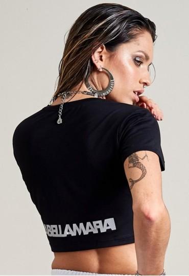 Cropped Black and White Labellamafia