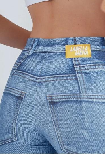 Calça Legging Jeans Labellamafia