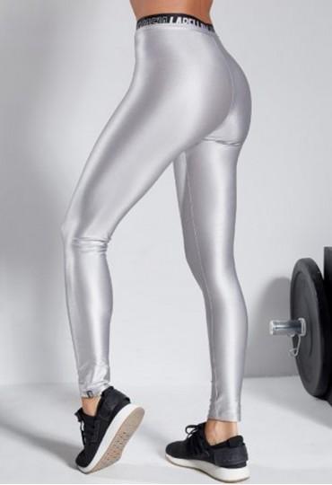 Calça Legging Prata Labellamafia