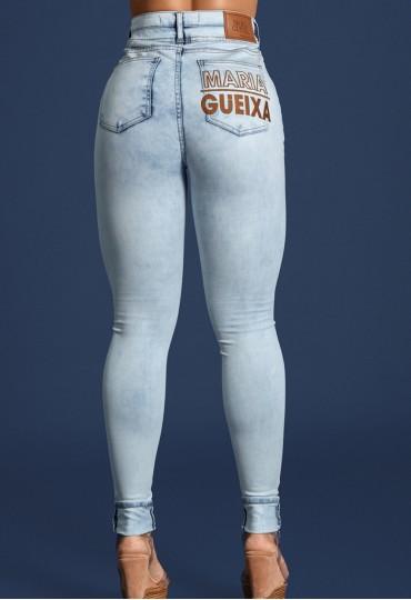 Calça Jeans Recorte