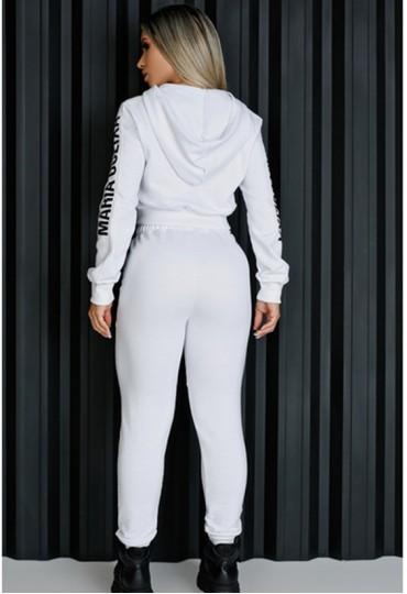 Conjunto All White Maria Gueixa
