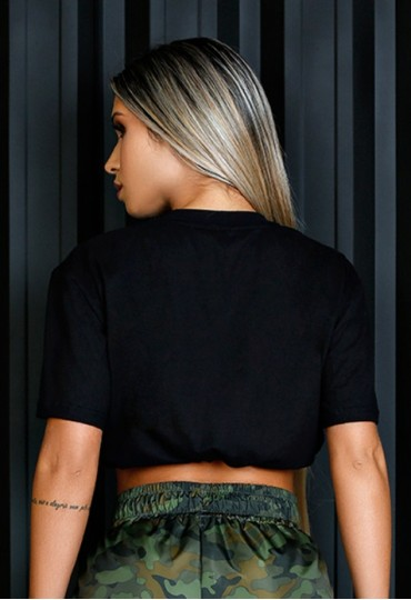 Blusa elástico metálico Maria Gueixa