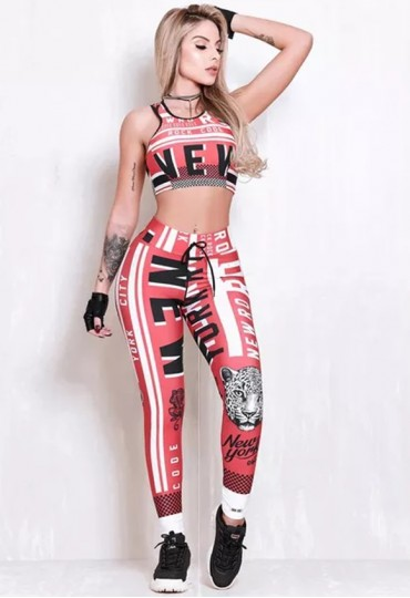 Conjunto Elastic Red Blood Flames
