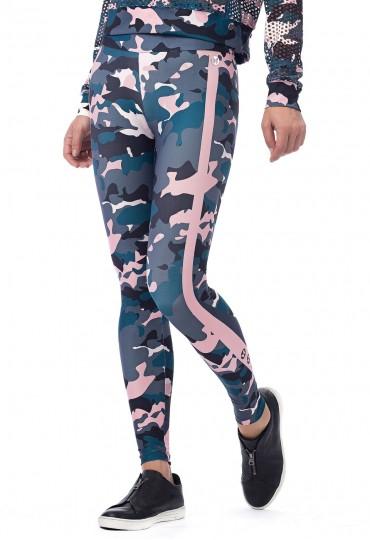 Legging Camuflada Abstract
