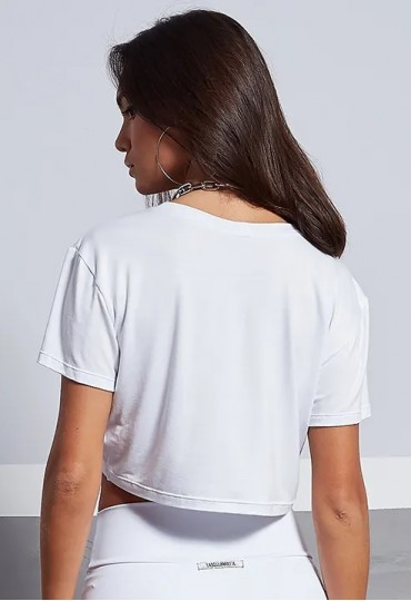 BLUSA CROPPED NEW YEAR WHITE