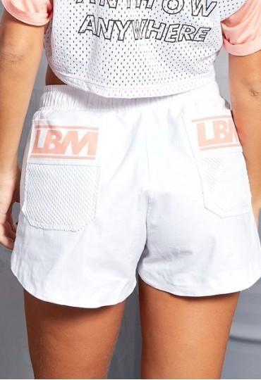 Shorts Labellamafia White