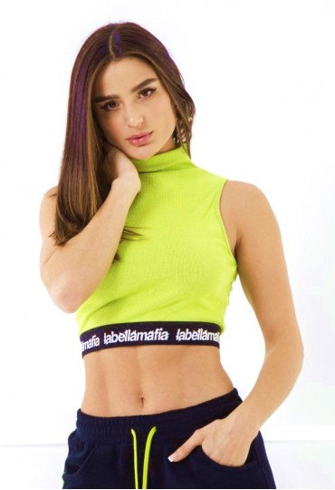 Cropped Army Neon