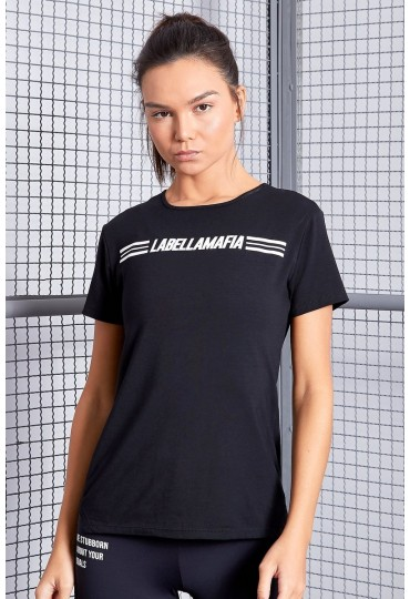 T-Shirt Labellamafia Black