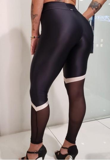 Legging Recorte Elástic Roxo