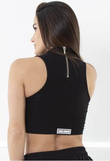 Cropped Black Fashion Labellamafia