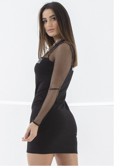 Vestido Long Black Labellamafia