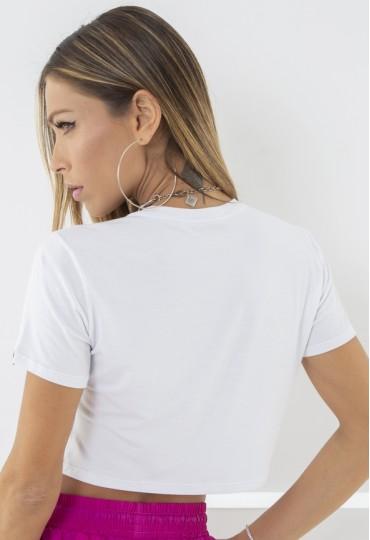 Cropped Branco Labellamafia