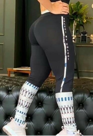 Legging Cores Contrastantes
