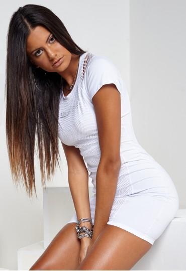 Vestido Branco Tela Labellamafia