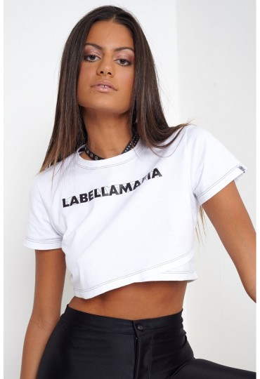 Blusa Cropped Labellamafia Head