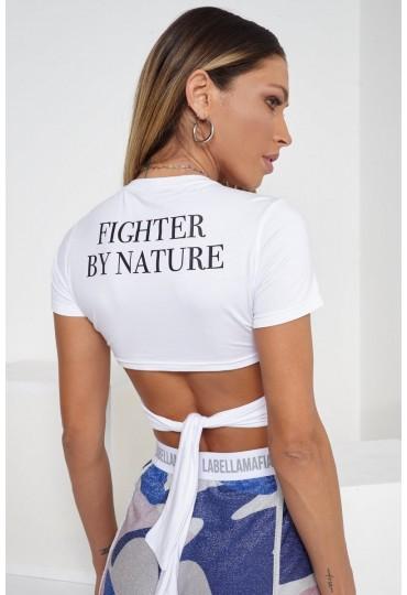 Blusa Cropped Labellamafia Fighter