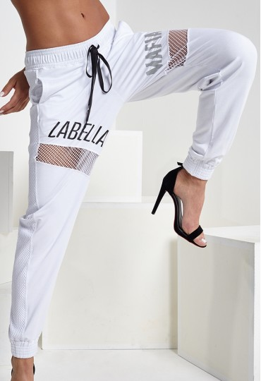 Jogger White Labellamafia