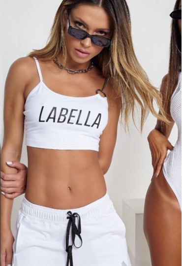 Top Branco Labellamafia