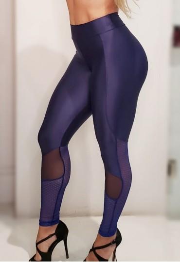 Legging Mesh Azul