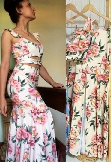 Conjunto Floral Style