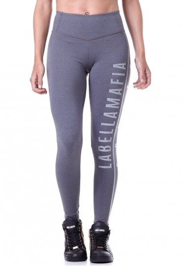 Legging Essentials Gray Labellamafia