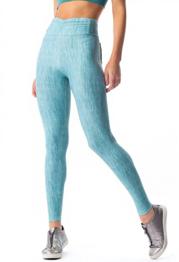 Legging empina bumbum Blue