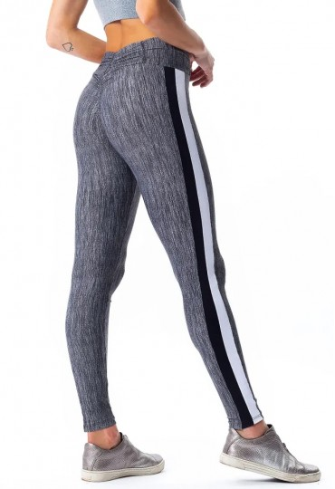 Legging empina bumbum Golden Gray