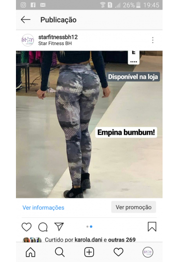 Legging empina bumbum new