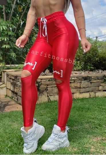 Legging Colors Vermelha