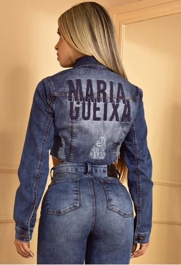 JAQUETA JEANS MARIA GUEIXA
