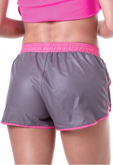 Shorts Labellamafia Neon Gray