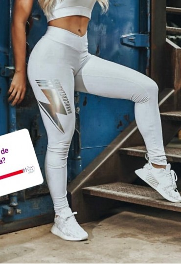 Legging Labellamafia White