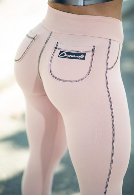LEGGING BOLSO REDONDO MELLOW ROSE
